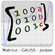 Matrice : Gauss-Jordan by HENRY X.