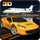 City Modern Airport Taxi Rush by Digital Toys Studio