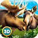 Moose Arctic Survival: Elk Sim by Wild Animals Life