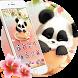 Panda Sakura Theme by Cool Theme Love