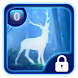 Luminous silver deer theme by lovethemeteam