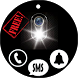 Flash Alert Call, SMS & Notify by SalomonApps