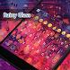 Rainy Window Eva Keyboard -Gif by Eva Awesome Theme