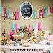Room Party Decor