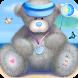 Summer Teddy Bear by Leen