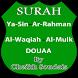 Surat Waqiah Mulk Yasin Rahman by Hisn Al Muslim