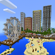 Sea town, map for MCPE by Bhavya
