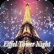 Eiffel Tower Night Keyboard by Enjoy the free theme