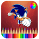 Coloring book for Sonic by devlengends