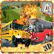 School Bus Demolition Crash by Absolute Game Studio