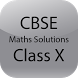 CBSE Maths Solutions Class X by R M Apps