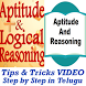 Aptitude and Logical Reasoning Tricks Telugu App