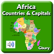 Africa Countries and Capitals by Gbury Apps