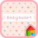 baby heart 도돌런처 테마 by iconnect for Phone themeshop