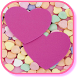 Pink Heart Live Wallpaper by Red Zone