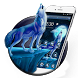 wicked Howl Wolf Theme 2D by android themes & Live wallpapers