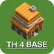 New COC Town Hall 4 Base by Hexa Developers