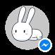 Thỏ bảy màu cho Messenger
