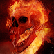 fire skulls live wallpaper by Dark cool wallpaper llc