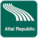 Altai Republic Map offline by iniCall.com
