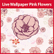 Pink Flowers Live Wallpaper by LiveWallpaperThemes