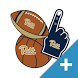Pitt Panthers PLUS Selfie Stickers by 2Thumbz, Inc