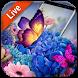 Dancing Butterfly Wallpaper by Weather Widget Theme Dev Team