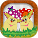 Coloring Book Mushroom by funny games