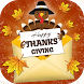 Thanksgiving Greeting Cards - Best Wishes