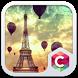 Flying on Eiffel Tower Theme by Pop Locker Team - Hide Secret App