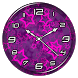 Purple Clock Live Wallpaper by Lo Siento
