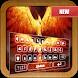 Flame Phoenix Emoji Keyboard by Arzanax Labs