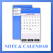 Simple Note and Calendar App by osthoro