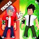 NewTricks: ROBLOX BEN 10 & EVIL BEN 10 by GHDAYFA