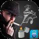 Smoke Cigeratte Screen Lock by Myth Logic Apps