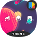 Space | Free Minimalist Xperia Theme by desmobox.com