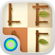 Brown Timber Hola Theme by Hola Launcher Themes