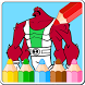 Coloring Book Games for Ban 10 by The Coloring Book Studio