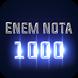 Enem nota 1000 by Fialkoski