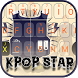 KPOP STAR Theme&Emoji Keyboard by Music Emoji Keyboard Theme