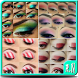 Eyes makeup steps tutorial by R.Nenzi
