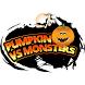 Pumpkin vs Monsters by CreativeSP