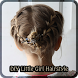 LITTLE GIRL HAIRSTYLES by Diane DeLand