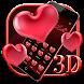 3D Valentine's Day Love Heart Theme