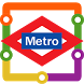 Madrid Metro Map by Transopolis