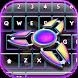 Fidget Spinner Custom Keyboard by Heather Art