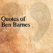 Quotes of Ben Barnes by DeveloperTR