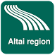 Altai region Map offline by iniCall.com