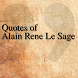 Quotes of Alain Rene Le Sage