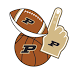 Purdue Boilermakers Selfie Stickers by 2Thumbz, Inc